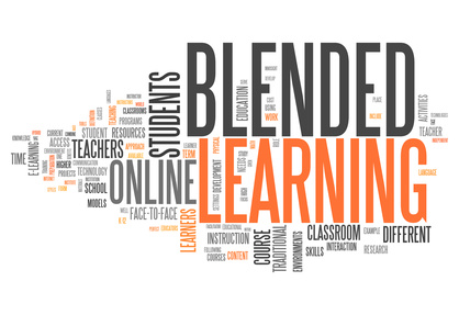 """Word Cloud """"Blended Learning"""""""