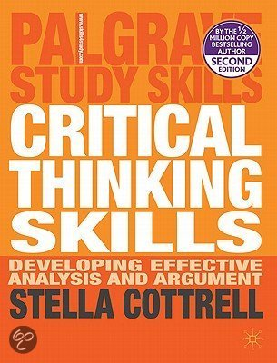 Stella cottrell critical thinking skills