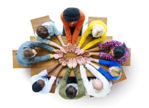 Diversity People Student Teamwork Friendship Support Concept